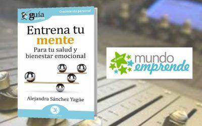 Alejandra Sánchez presenta su primer libro en Mundo Emprende