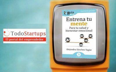 Alejandra Sánchez presenta su libro en TodoStartups